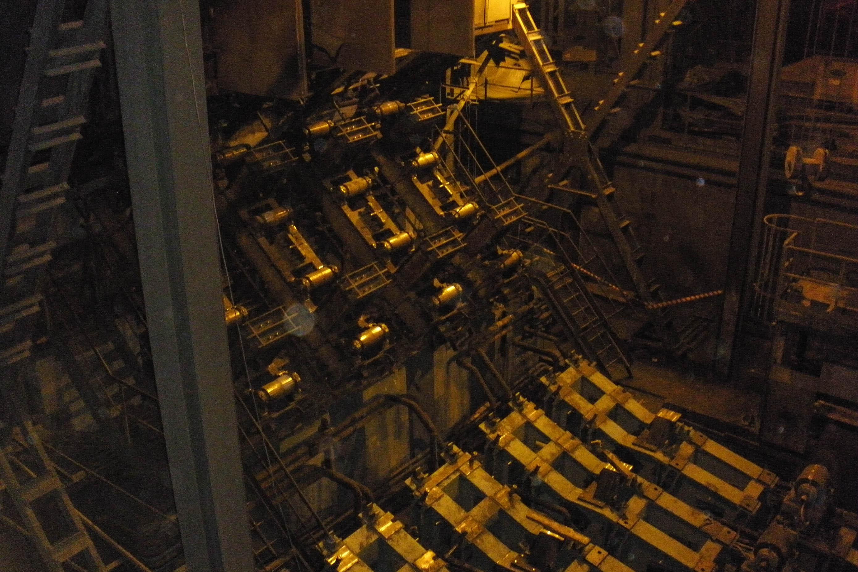 Техническое перевооружение установки непрерывной разливки стали