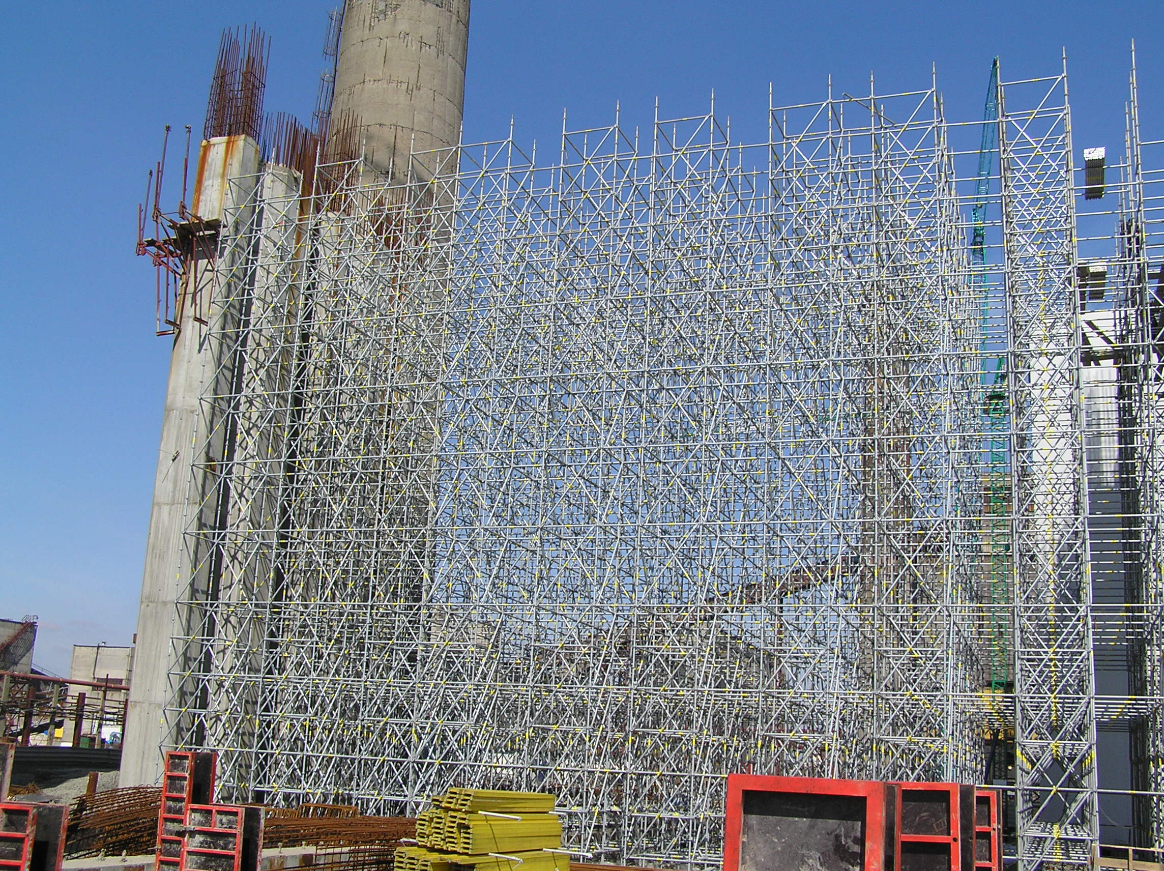 ERECTION OF METAL CONSTRUCTIONS